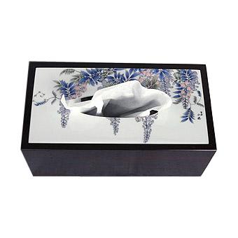有田焼 伊万里焼 陶器 磁器 陶磁器 ティッシュケース ティッシュボックス ティッシュ ケース ケースカバー ボックス ティッシュカバー おしゃれ:yt-tb-fj