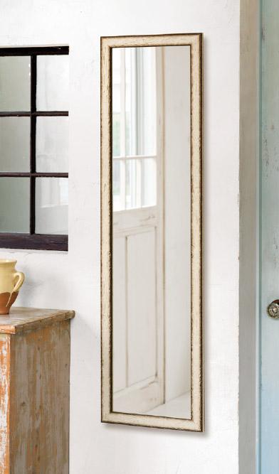 鏡 ミラー 壁掛け鏡 壁掛けミラー ウオールミラー:FaS-1r41-100(フレームミラー 壁掛け 壁付け 姿見 姿見鏡 壁 おしゃれ エレガント 化粧鏡 アンティーク 玄関 玄関鏡 洗面所 トイレ 寝室 額 フレーム 額縁 )