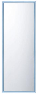 鏡 ミラー 壁掛け鏡 壁掛けミラー ウオールミラー:FaS-2r309BU-02(フレームミラー 壁掛け 壁付け 姿見 姿見鏡 壁 おしゃれ エレガント 化粧鏡 アンティーク 玄関 玄関鏡 洗面所 トイレ 寝室 額 フレーム 額縁 )