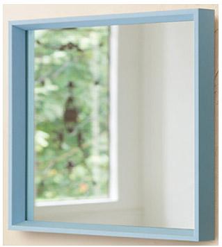 ユニークな色 の 鏡 ミラー 壁掛け鏡 壁掛けミラー ウオールミラー:FaS-2r309BU-08(フレームミラー 壁掛け 壁付け 姿見 姿見鏡 壁 おしゃれ エレガント 化粧鏡 アンティーク 玄関 玄関鏡 洗面所 トイレ 寝室 )