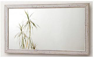 白 ホワイト ホワイト色 の 鏡 ミラー 壁掛け鏡 壁掛けミラー ウオールミラー:FaS-4r413-62(フレームミラー 壁掛け 壁付け 姿見 姿見鏡 壁 おしゃれ エレガント 化粧鏡 アンティーク 玄関 玄関鏡 洗面所 トイレ 寝室 )