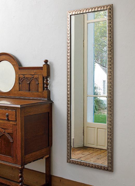 鏡 ミラー 壁掛け鏡 壁掛けミラー ウオールミラー:FaS-4r443-01(フレームミラー 壁掛け 壁付け 姿見 姿見鏡 壁 おしゃれ エレガント 化粧鏡 アンティーク 玄関 玄関鏡 洗面所 トイレ 寝室 額 フレーム 額縁 )