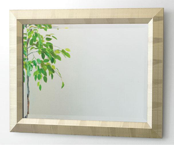 ゴールド 金色 の 鏡 ミラー 壁掛け鏡 壁掛けミラー ウオールミラー:FaS-801r0-02(フレームミラー 壁掛け 壁付け 姿見 姿見鏡 壁 おしゃれ エレガント 化粧鏡 アンティーク 玄関 玄関鏡 洗面所 トイレ 寝室 )