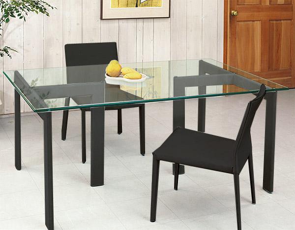 【送料無料】ハイ テーブル リビング テーブル ガラス テーブル ガラス製テーブル テーブル ガラス 黒 黒色 ブラック(天板:透明ガラス):HITAR-YaT-1r5+YaT-0r1st