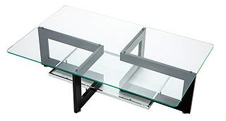 リビングテーブル ガラス 黒 幅130cm リビング テーブル ガラス ブラック 黒色 スチール アイアン 鉄 硝子 北欧 おしゃれ シンプル モダン