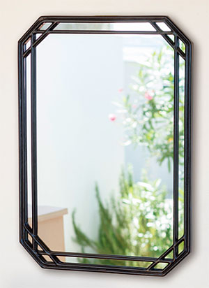 ロートアイアン アイアン 鉄 スチール の 鏡 ミラー 壁掛け鏡 壁掛けミラー ウオールミラー:NaAW-24r3(フレームミラー 壁掛け 壁付け 姿見 姿見鏡 壁 おしゃれ エレガント 化粧鏡 アンティーク 玄関 玄関鏡 洗面所 トイレ 寝室 )
