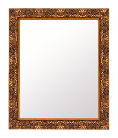 金箔 鏡 壁掛け ミラー 511x612 長方形 国産 壁掛け鏡 壁掛けミラー ウォールミラー 姿見 鏡 全身 吊り下げ レトロ アンティーク おしゃれ 額 フレーム 額縁 角型 四角 四角形 角型 四角 四角形 ゴールド 金 金色