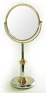 鏡 ミラー 拡大鏡 ポムドール 両面鏡 卓上鏡 卓上ミラー スタンドミラー ミラースタンド スタンド メーキャップミラー 化粧鏡 コスメミラー:ポムドール 9d0.81.04.00d3(両面鏡 片面拡大鏡)