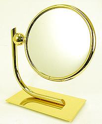 鏡 ミラー 拡大鏡 ウィンデイッシュ 両面鏡 卓上鏡 卓上ミラー スタンドミラー ミラースタンド スタンド メーキャップミラー 化粧鏡 コスメミラー:ウィンディッシュ 9d913d6GD(両面鏡 片面拡大鏡 )