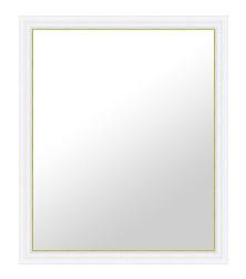 白 ホワイト ホワイト色 の 鏡 ミラー 壁掛け鏡 壁掛けミラー ウオールミラー:A-RD281WH-455mmxh556mm(フレームミラー 壁掛け 壁付け 姿見 姿見鏡 壁 おしゃれ エレガント 化粧鏡 アンティーク 玄関 玄関鏡 洗面所 トイレ 寝室 )