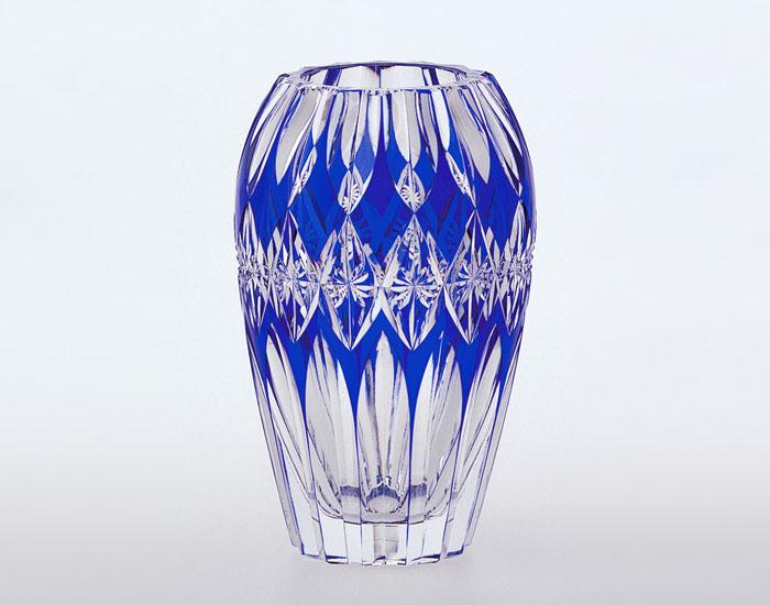 【メーカー直営店】KAGAMI カガミクリスタル花瓶F299-866-CCB