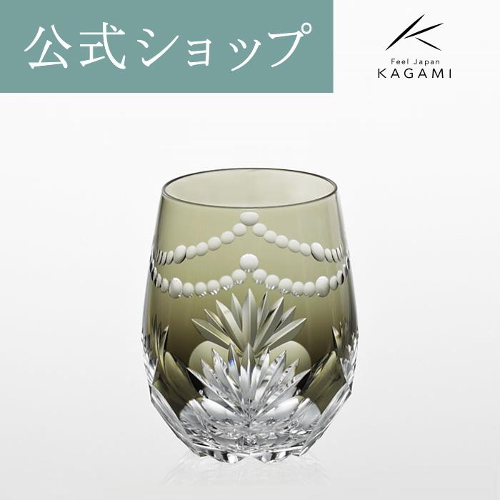 【メーカー直営店】江戸切子 カガミクリスタルKAGAMI華シリーズ ワインボウル T739-2761-BLK