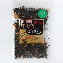 カルシウムが 昆布の約2倍の含有量です メーカー公式ショップ はなまるカフェで 42-2 評判のひじきごはん 商店