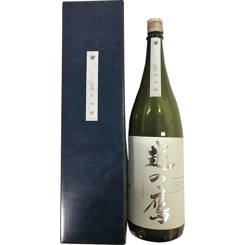伊藤酒造 越の鷹 大吟醸38-9 1800ml