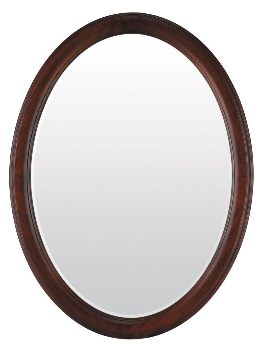 吊り鏡、壁掛け鏡、、楕円鏡、イタリア製 べネ002 DO