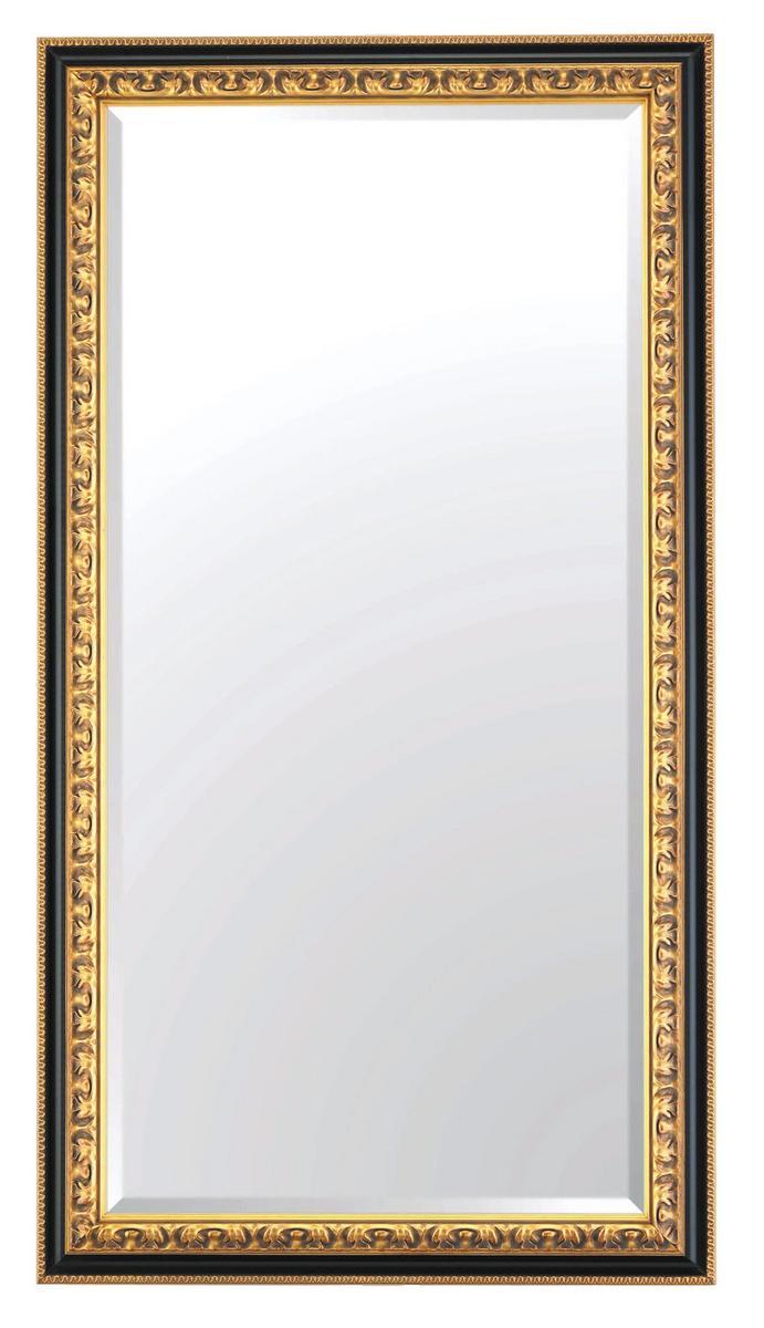 アンティークミラー、吊り鏡、大型ミラー、大きい鏡、壁掛け鏡 HLY-680 BK 送料無料【smtb-k】【ky】