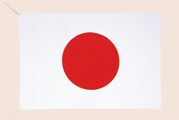 テトロンツィール国旗 120cmX180cm FL-TT120X180