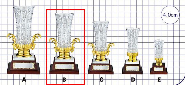 ガラス製カップ VC.1027-B