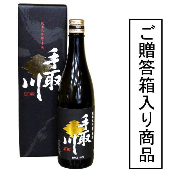 石川县是在白山市的吉田酒造手取川本流純米大吟醸1800m