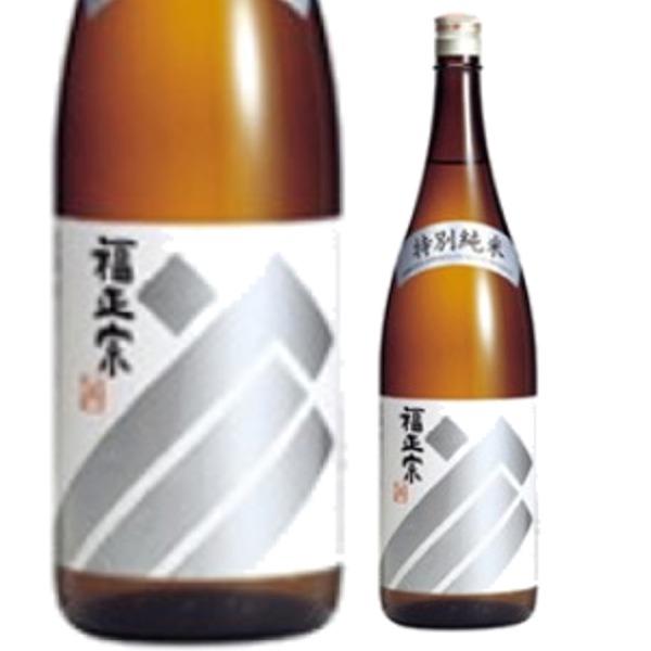 自然の旨さと OUTLET SALE さらりとした後味 金沢の酒蔵 福光屋福正宗 特別純米 セール特別価格 銀ラベル 720ミリ