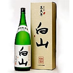 御届けまで数日必要です 日本製 小堀酒造 萬歳楽 白山特別純米 至上 1800m吟醸蔵 で醸された特別純米酒 白山