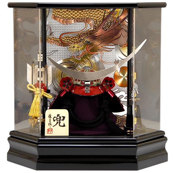 五月人形 佳月 K105 伊達政宗 兜ケース飾り 端午の節句 5月人形 K-105 【2019年度新作】
