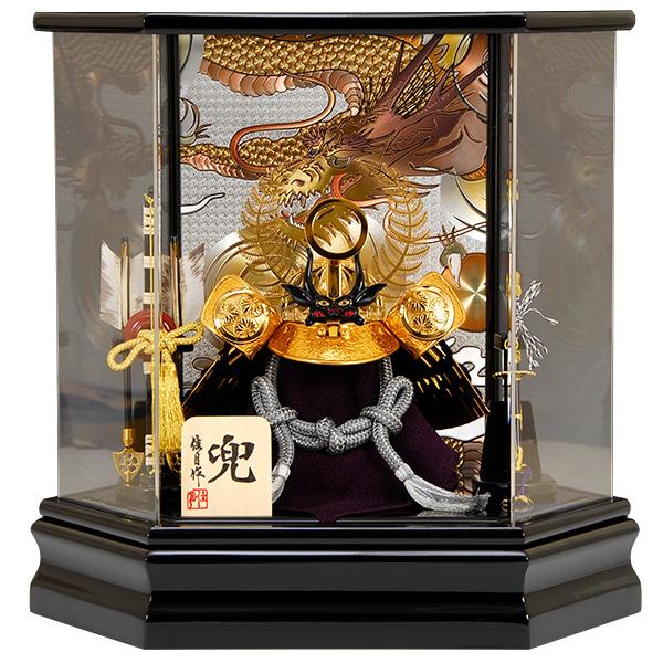 五月人形 佳月 K-108 徳川家康 兜ケース飾り 端午の節句 5月人形【2019年度新作】