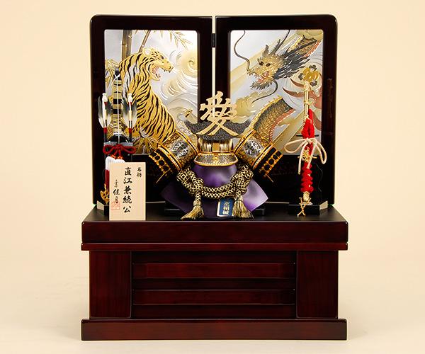 五月人形 佳月 K-22 直江兼続公 収納飾り 端午の節句 5月人形【2020年度新作】