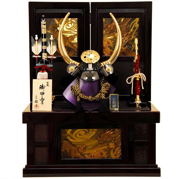 五月人形 佳月 K-35 黒田長政公 収納飾り 兜飾り 端午の節句 5月人形【2019年度新作】