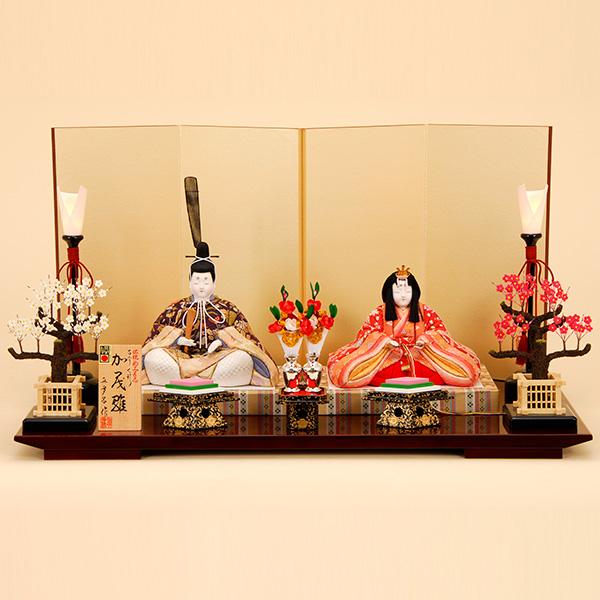 雛人形 K403 真多呂作 木目込人形 【雛人形】【佳月】【かげつ】【木目込人形】【平飾り】【高級品】【送料無料】k403