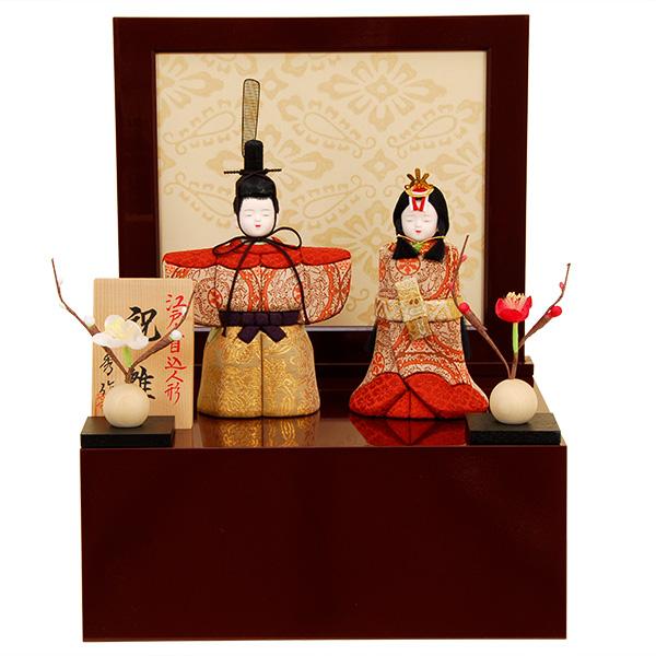 雛人形 K462 一秀作 木目込人形 【雛人形】【佳月】【かげつ】【木目込人形】【高級品】【送料無料】k462