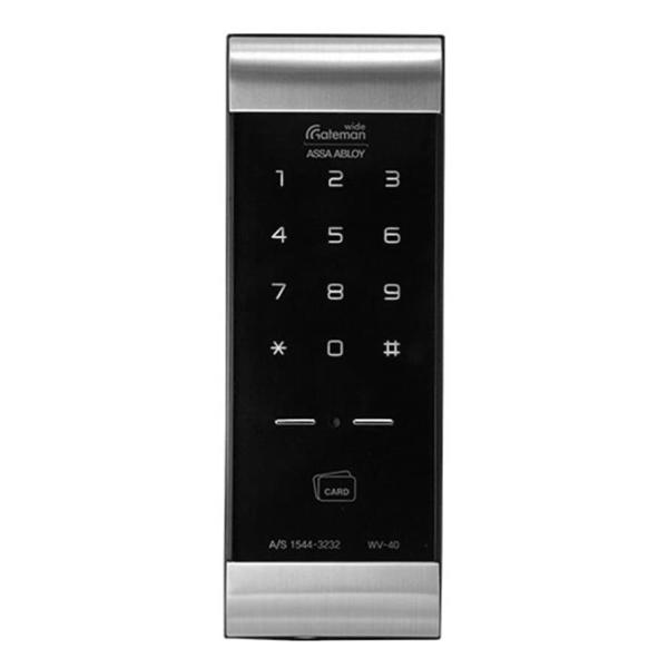 おトク 時代に流されないスタイリッシュなデザイン 扉に穴加工が必要です 電池錠 GATEMAN ゲートマンWV-40 全品最安値に挑戦 デジタルドアロック 面付錠 24時間サポート付き
