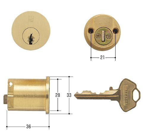 WEST/ウエスト 鍵 セキスイ2200E 補助錠用