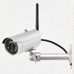 防犯カメラ 屋外用ネットワークカメラ P2P方式 LA02W