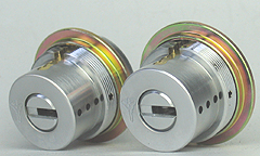 (1) MUL-T-LOCK (Marti rock), LIX for Exchange cylinder and two identical keyset