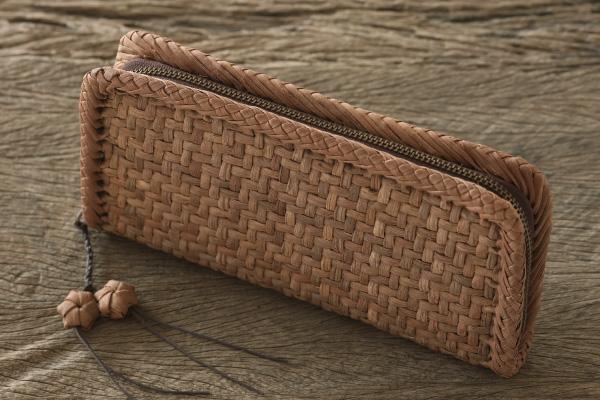 441dc6f6ca1c センサー 山葡萄 バッグ 竹細工やまぶどう長財布(国産材/ひご幅3~5mm ...