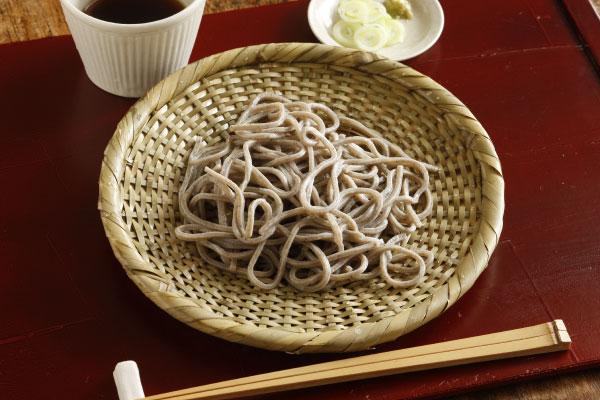 【10枚セットお買い得価格】青竹 蕎麦ざる(戸隠風)直径約21cm【盛り目安 一人前】