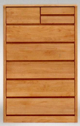チェスト タンス ハイチェスト 多段チェスト 80幅 幅80 引き出し 衣類収納 収納力 6段 アルダー材 自然塗装 木製 完成品 日本製 ナチュラル ブラウン 選べる2色 衣類収納 整理たんす 箪笥 送料無料 通販