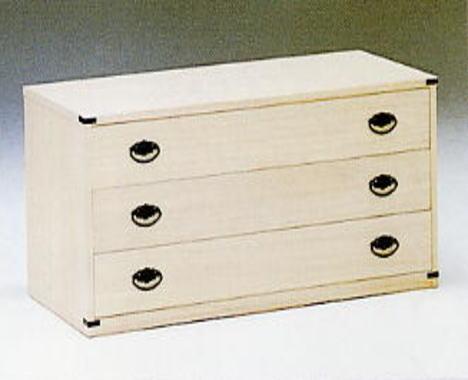 チェスト タンス 桐ローチェスト 幅100 桐国産 総桐 木製 衣類収納 整理たんす 箪笥 収納家具 インテリア 送料無料 通販