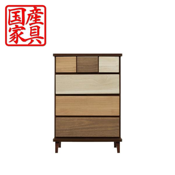 チェスト タンス ローチェスト 幅60 木製 衣類収納 整理たんす 箪笥 収納家具 インテリア 送料無料 通販