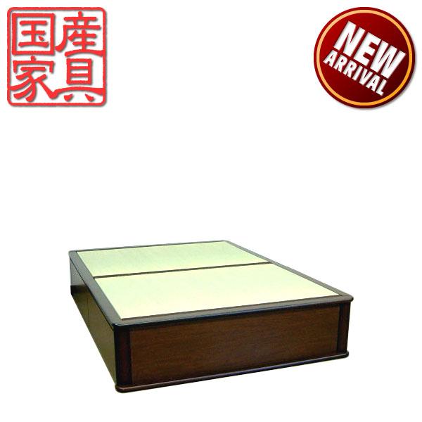 畳ベッド ベッド たたみベッド ダブルベッド ベッドフレーム 和風 国産 モダン  送料無料 通販