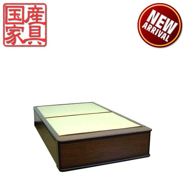 畳ベッド ベッド たたみベッド セミダブルベッド ベッドフレーム 和風 国産 モダン ロングタイプ  送料無料 通販