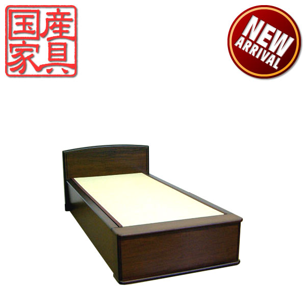 畳ベッド ベッド たたみベッド シングルベッド ベッドフレーム 和風 国産 モダン ロングタイプ  送料無料 通販