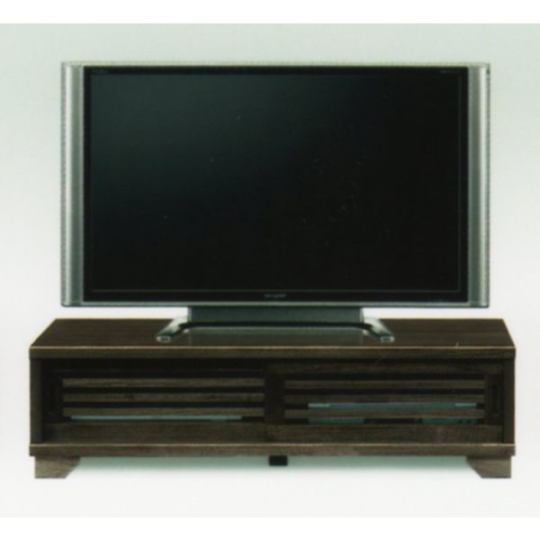 120 ローテレビボード ブラウン テレビボード テレビ台 ローボード AVボード 大川格安家具 【送料無料】 北欧