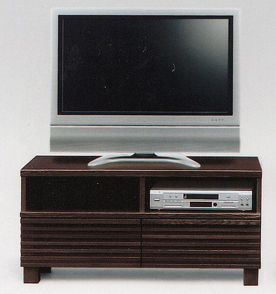 100 TVボード ブラウン テレビボード テレビ台 【送料無料】 ローボード 国産 完成品 北欧