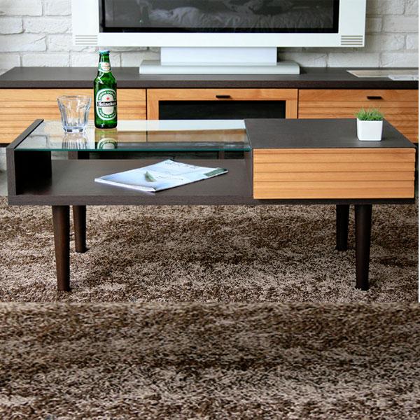 テーブル センターテーブル 幅100 リビングテーブル 木製 ローテーブル 完成品 応接テーブル コーヒーテーブル 北欧 送料無料