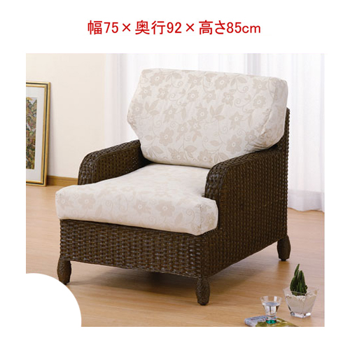Hanging Wicker furnishings (rattan) cane sofa solo SH43 IMY141B (rattan  furniture / Ratan sofa / sofa / couch 1 seater / upholstered / upholstered  /