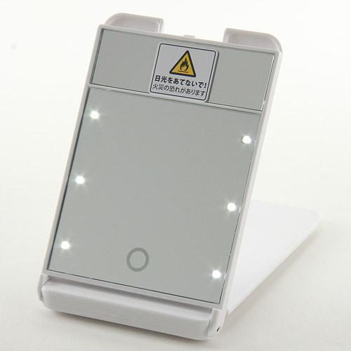 LED付タッチミラー