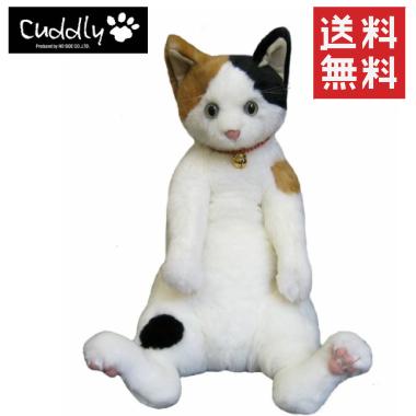 【ご予約品】【送料無料】Cuddly (カドリー) ぬいぐるみ 小春/三毛 【smtb-TD】【tohoku】