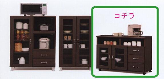 【送料無料】キッチン収納 キッチンカウンター 収納棚台所収納 食器棚 レンジ棚 レンジ収納AQ90カウンター
